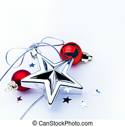 decoração, arte, árvore, natal
