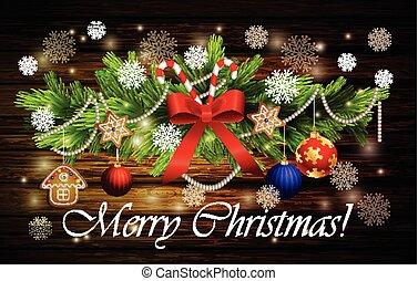 decoração, cana, natal, doce