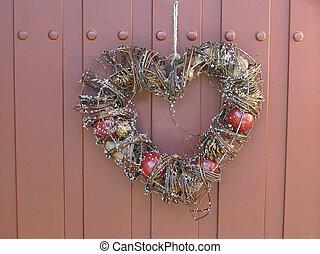decoração, coração