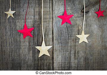 decoração estrela natal