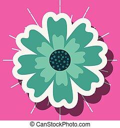 decoração, flor, ornamento, natureza