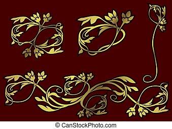 decoração floral, 09