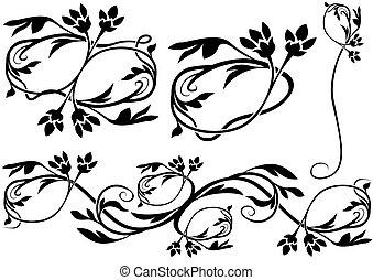 decoração floral, 10