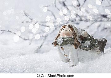 decoração, inverno