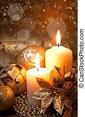 decoração, natal