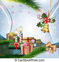 decoração natal, velas