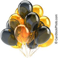 decoração, Partido, balões, clássicas