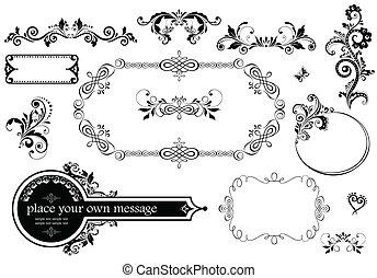 decoración, vendimia, boda