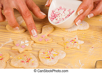 decorar, galletas
