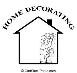 decorar home