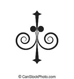 decorate ornate scroll style