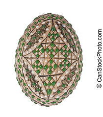 decorated egg for easter