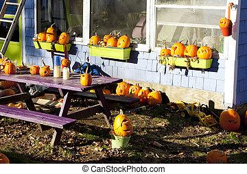 Halloween, Maine, USA