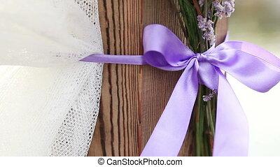 Decorateds wedding arch elements