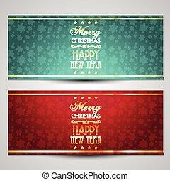 decoratief, achtergronden, kerstmis