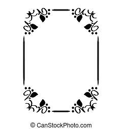 decoratief, decoratief, frame.