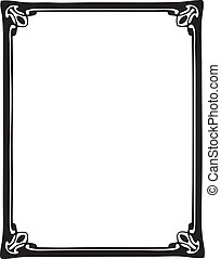 decoratief, frame