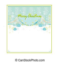 decoratief, gelul, kerstmis, vogels