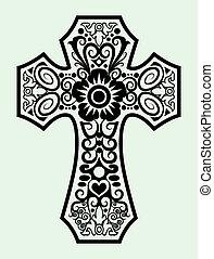 decoratief, kruis