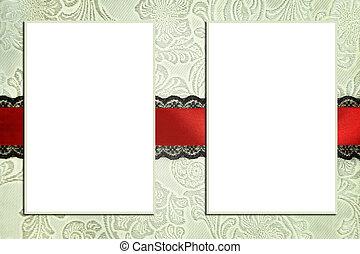 decoratief, mal, met, foto, frames., plakboek, photobook,...