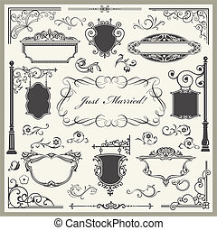 decoratief, set, 01