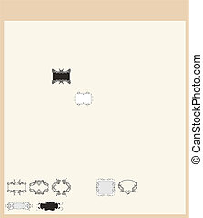 decoratief, set, 07