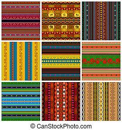 decoratief, traditionele , set, model