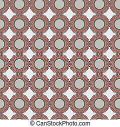 decoratieve knippatroon, gedaantes, seamless