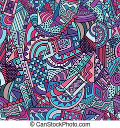 decoratieve knippatroon, geometrisch, abstract