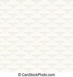 decoratieve knippatroon, seamless, texture., witte , geometrisch, driehoeken