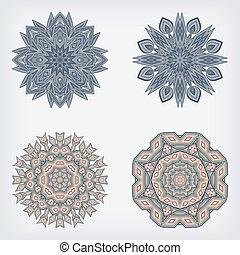 decoratieve knippatroon, set