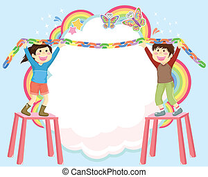 decorating kids