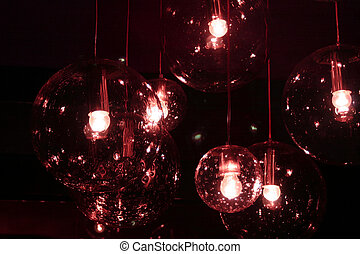 decorating light - decorating glass spheres with lights