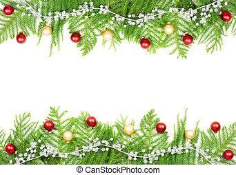 decoration., árbol, navidad