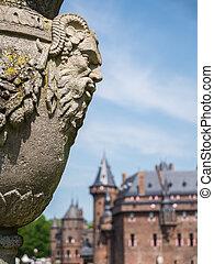 Decoration at Castle De Haar, The Netherlands