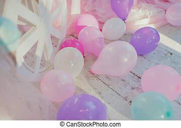 decoration birthday balloons
