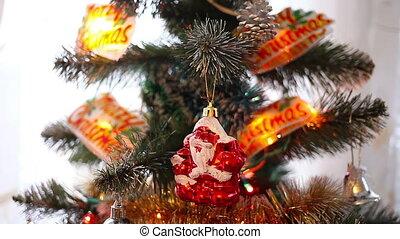 decoration., boże narodzenie, nowy rok