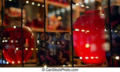 Decoration bokeh holiday - Christmas and New Year...
