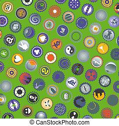 Decoration cover - Creative design of decoration cover