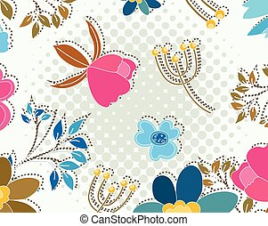 Decoration Flowers Background