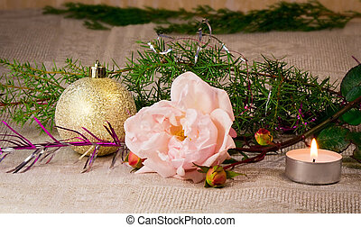 Decoration for Christmas and the New year.