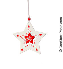 Decoration for Christmas isolated on a white background