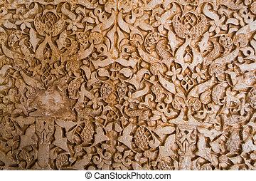 Decoration in Alhambra