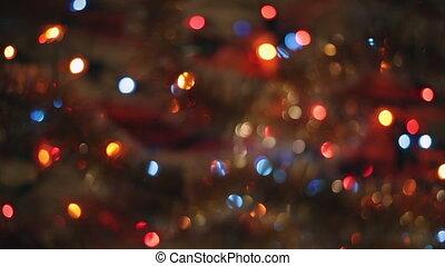 decoration., kerstmis, jaarwisseling