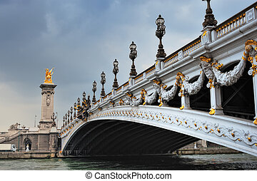 Decoration on bridge