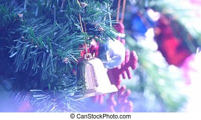 decoration on christmas tree