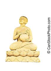decoration sandstone buddha