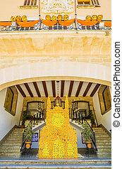 Orange festival in Soller, Mallorca