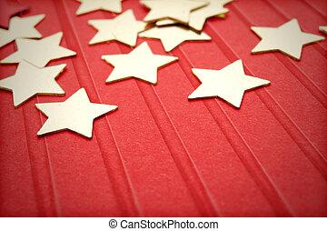 decorations, stars