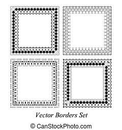 frames and borders set